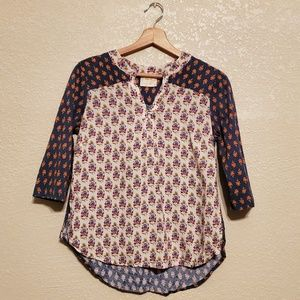 Maeve Floral Top Small